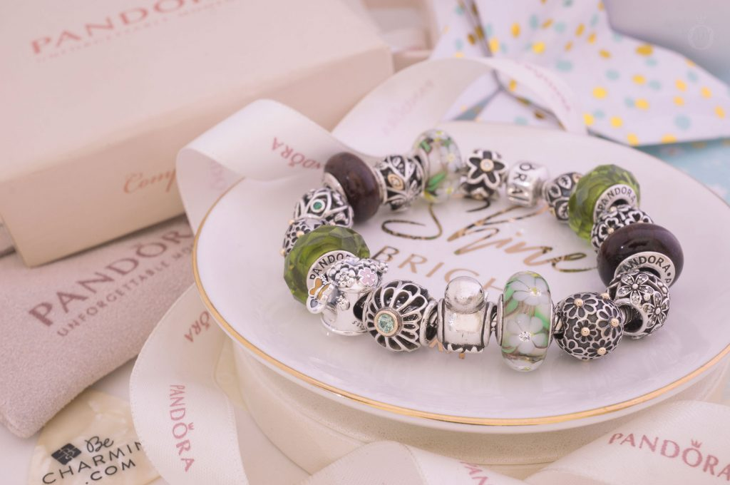 797873ENMX PANDORA Blooming Watering Can Charm Spring Collection 2019 Summer new collection
