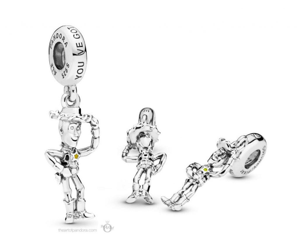 Pandora Disney Pixar Toy Story  Woody Pendant Charm (798041ENMX)