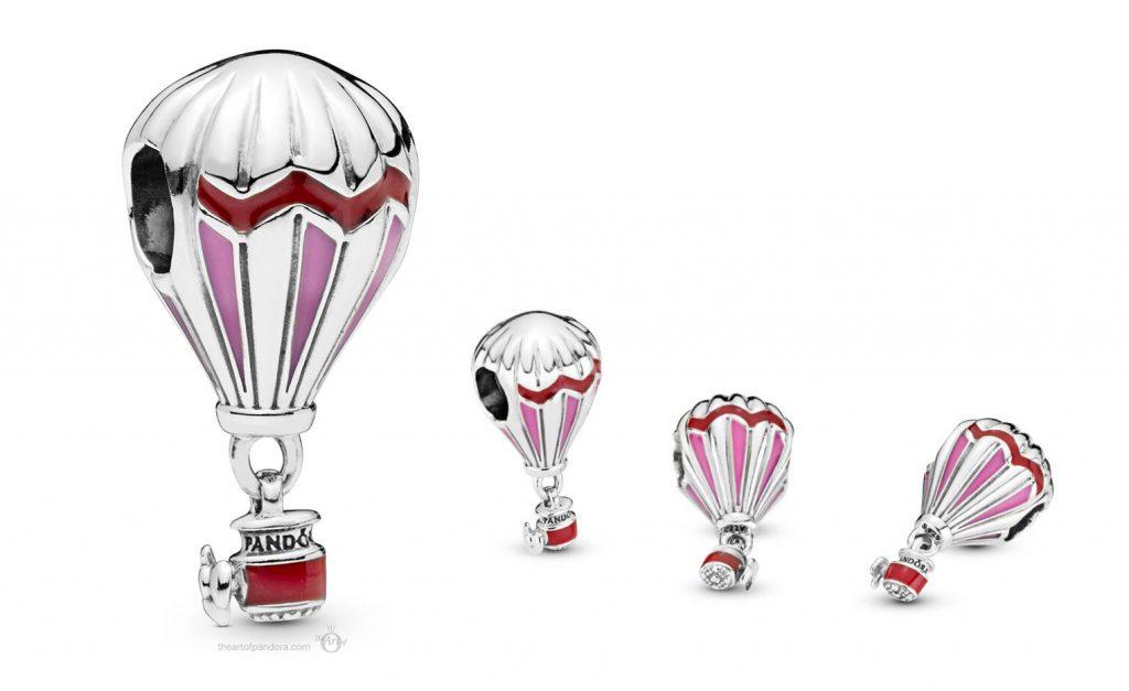 Pandora Red Hot Air Balloon Charm (798055ENMX)