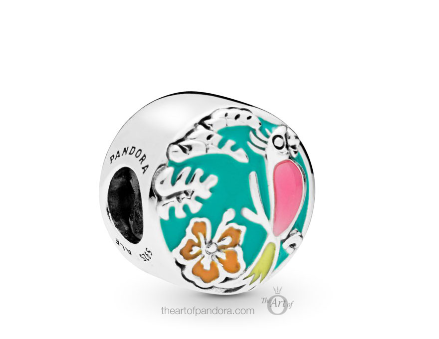 798120ENMX PANDORA Disney Enchanted Tiki Room Charm
