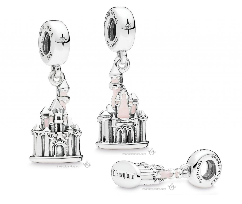 Sleeping Beauty Castle Charm by PANDORA - Disneyland