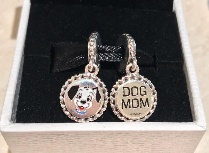 PANDORA Disney Parks Cat Lady & Dog Mom Charms