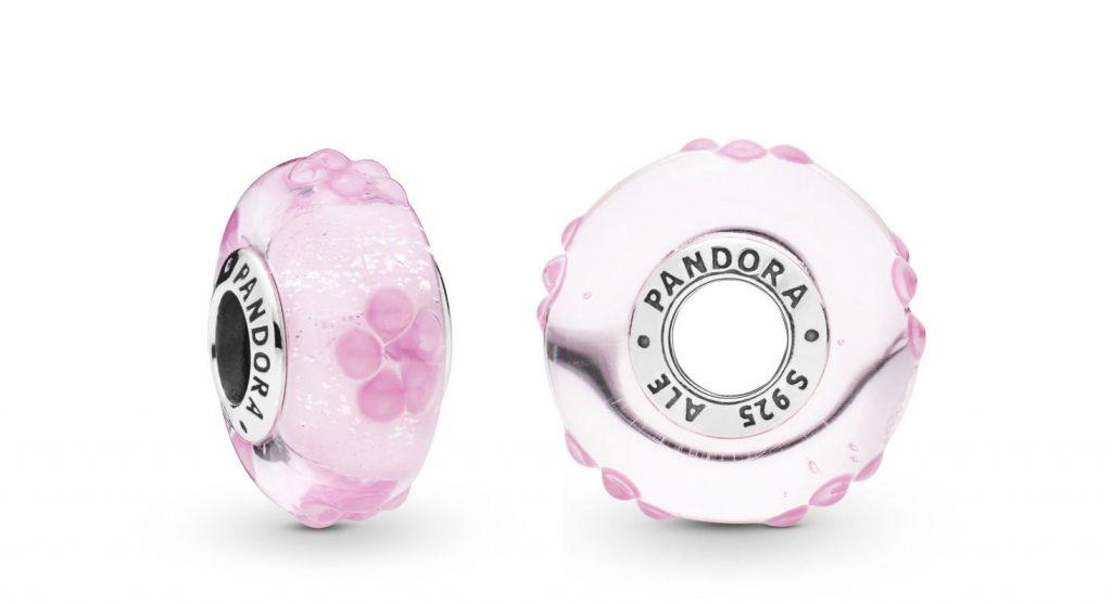 Pandora Pink Flower Murano (797901) Spring 2019