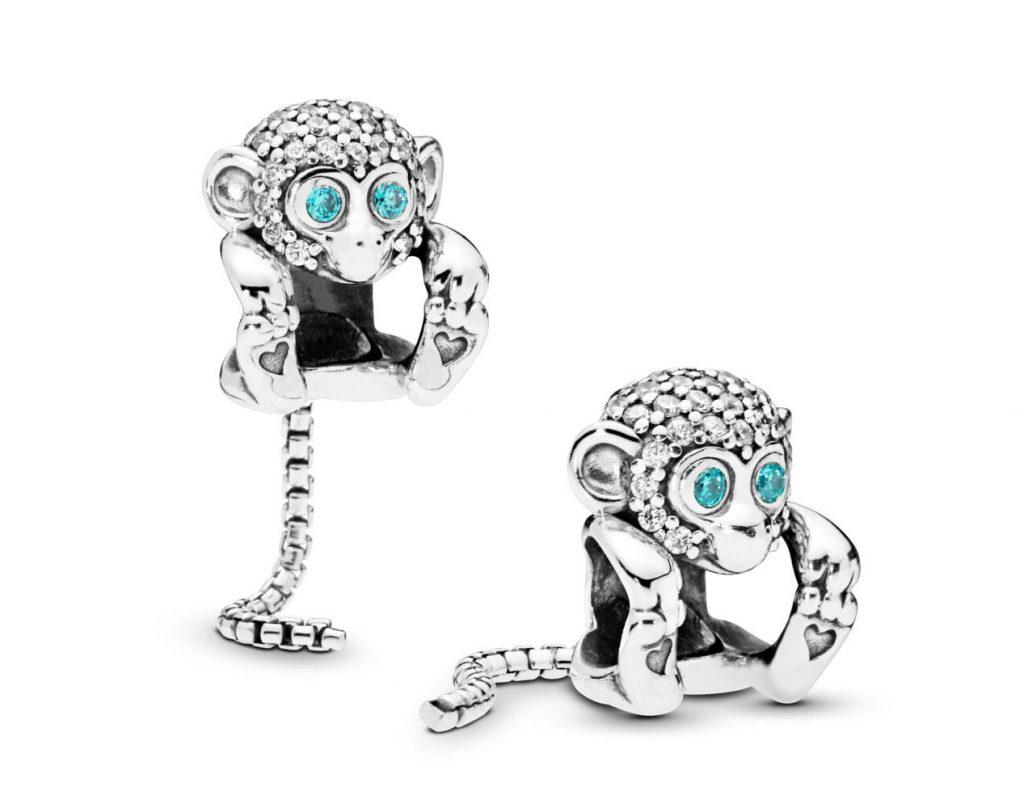 Pandora Sparkling Monkey Charm 798054CZ Summer 2019 new Collection
