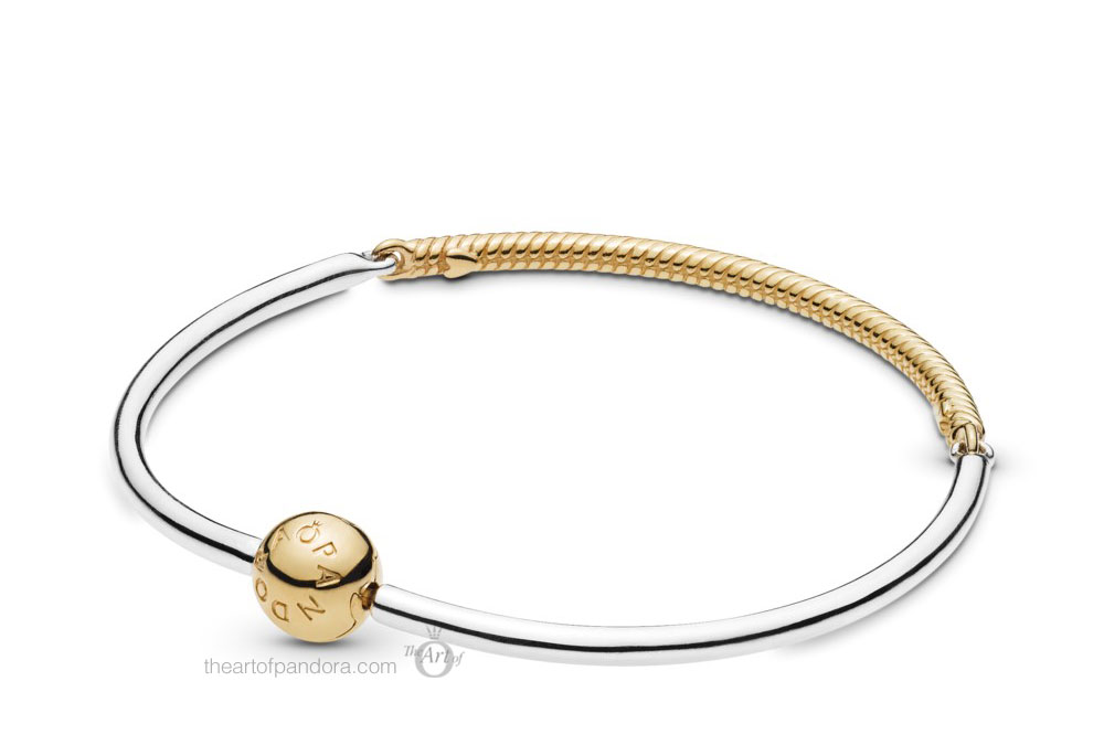 Pandora Shine Moments Three Link Bangle (568143) Pre Autumn 2019