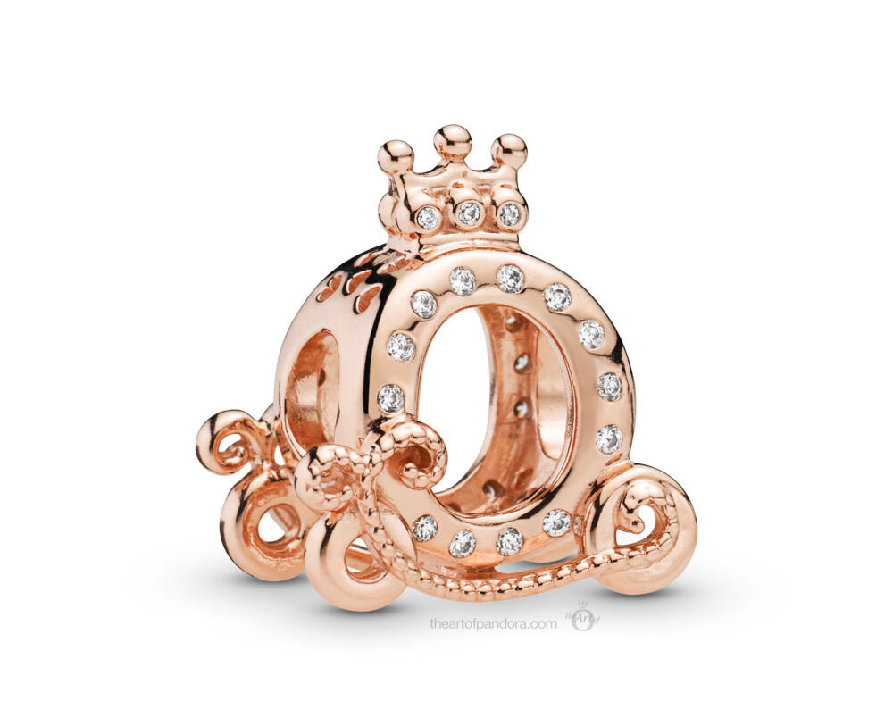 Pandora Rose Shining Crown Carriage Charm (788129CZ)