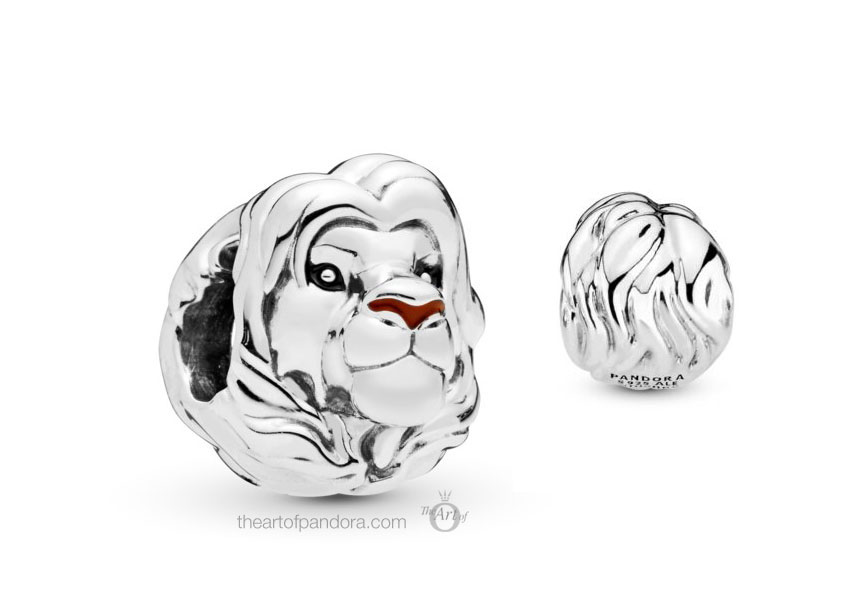 Pandora Disney Simba Silver Charm (798049ENMX)