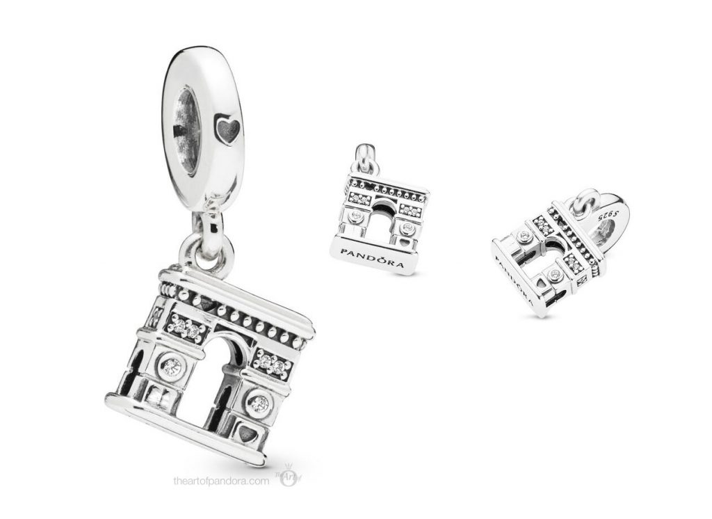 Pandora Arc de Triomphe Dangle Charm (798127CZ)