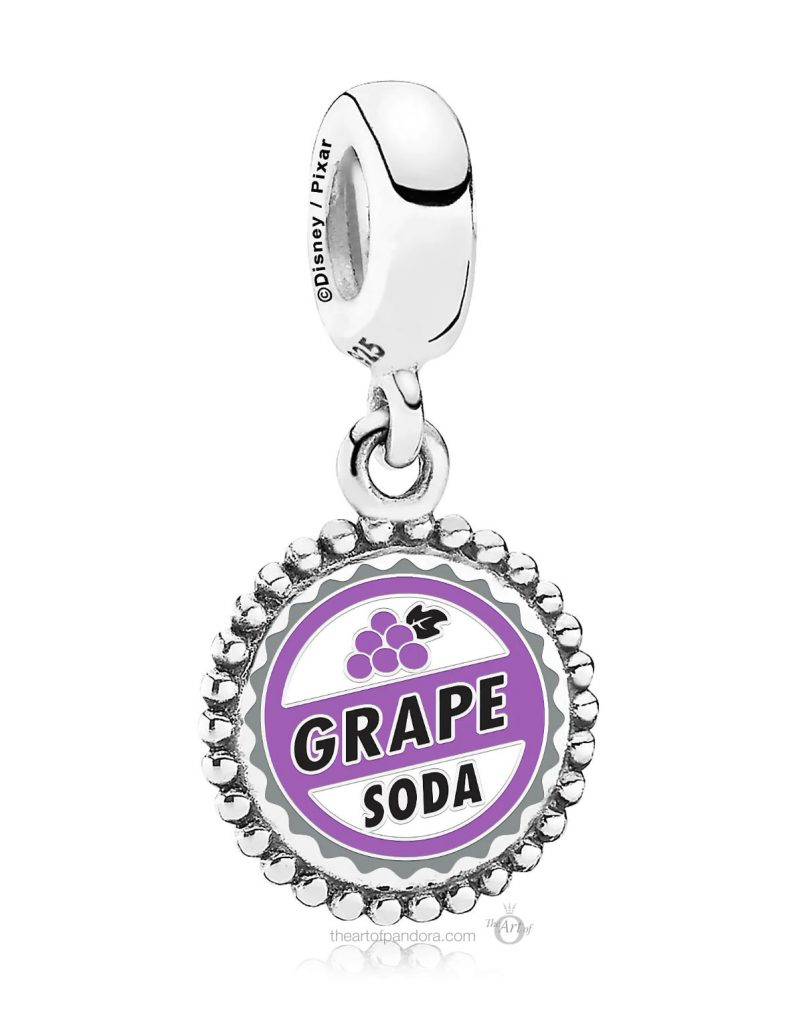 Pandora Disney Parks Grape Soda charm