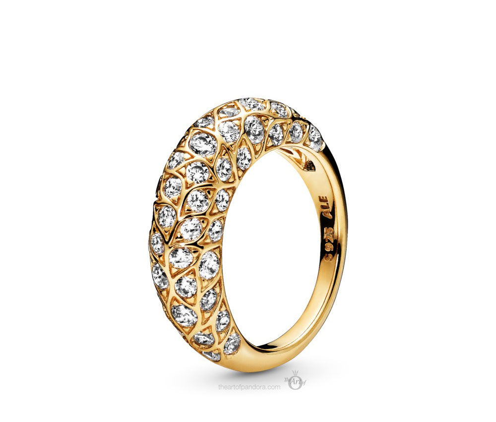Pandora Shine Sparkling Pattern Ring (168290CZ) Autumn 2019