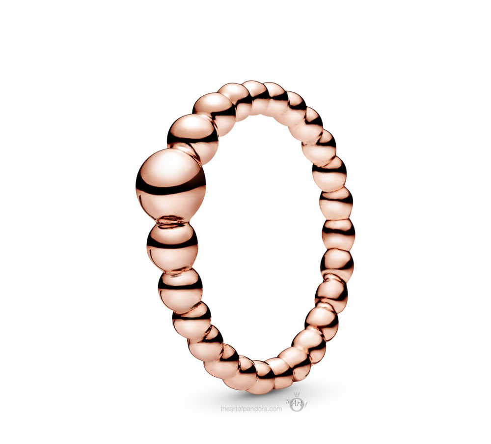 Pandora Rose String of Beads Ring (187536) Autumn 2019