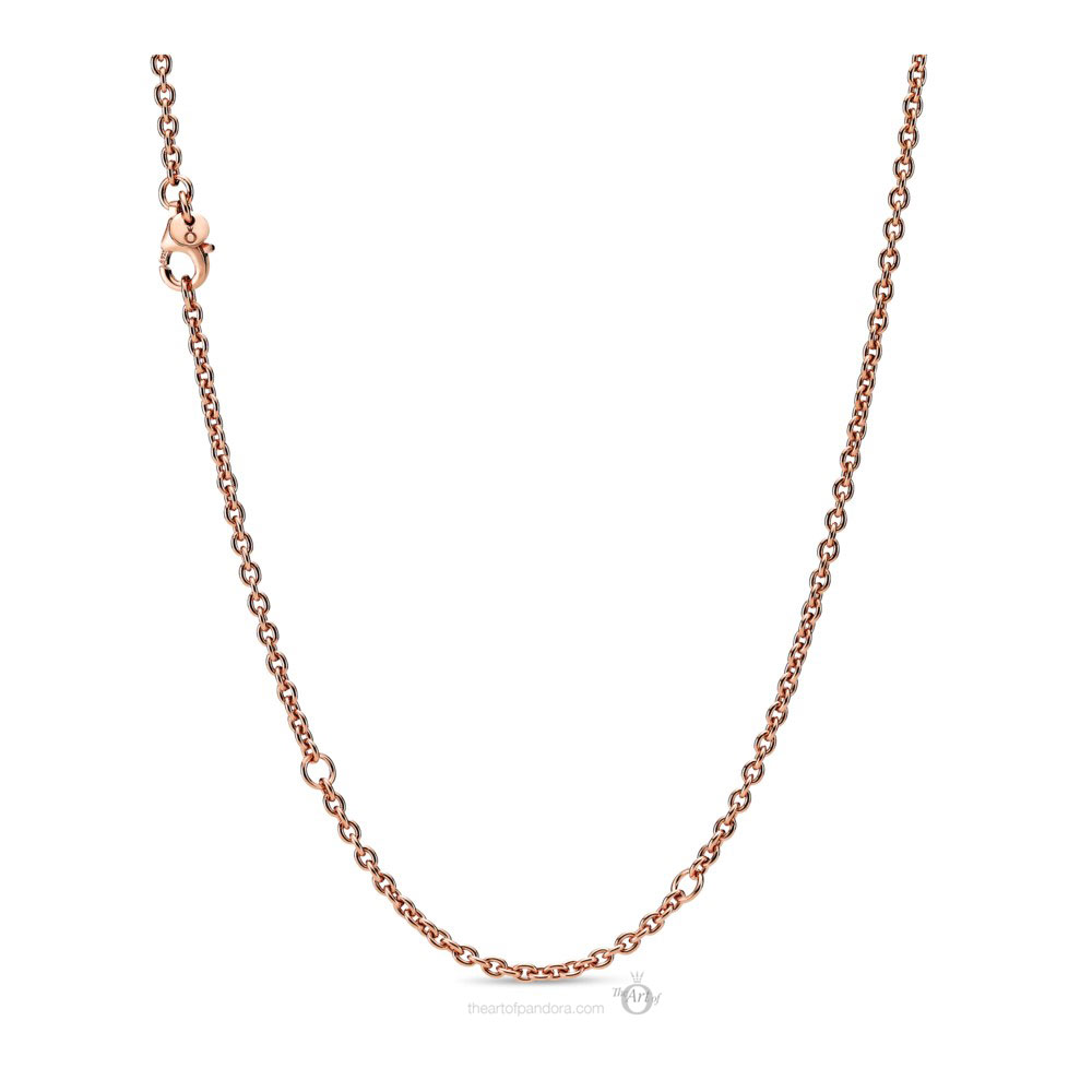 Pandora Rose Cable Chain Necklace (388574C00-60) Autumn 2019