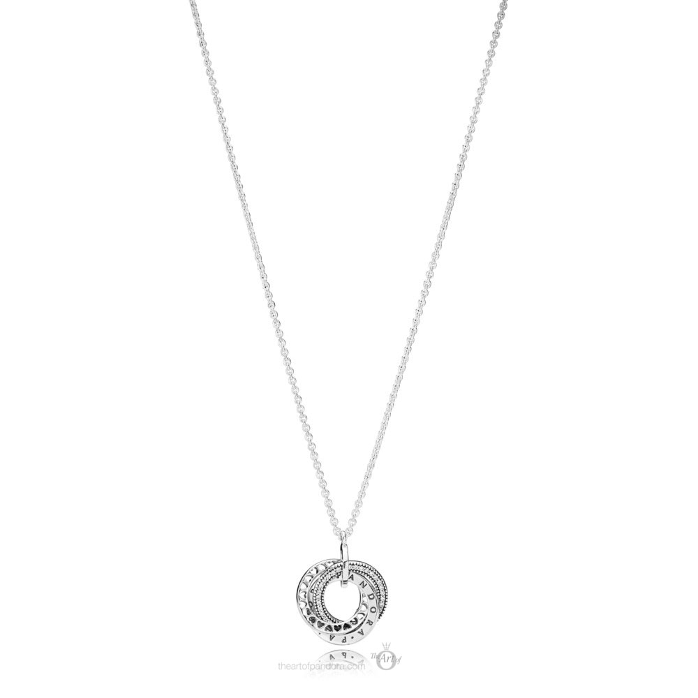 Pandora Intertwined Logo Necklace (397702CZ-50) Autumn 2019