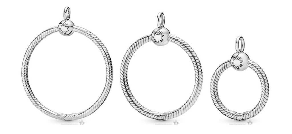Pandora Large Moments O Pendant (398330) Pandora Medium Moments O Pendant (398256) Pandora Small Moments O Pendant (398296) Autumn 2019