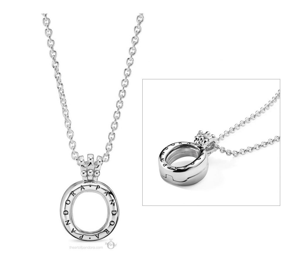 Pandora Crown O Locket Necklace (398332-60) Autumn 2019