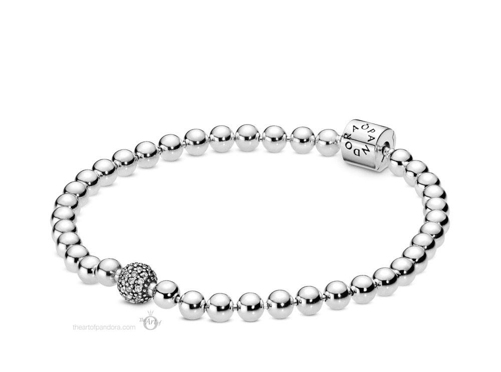 Pandora Beads & Pave Bracelet (598342CZ) Autumn 2019