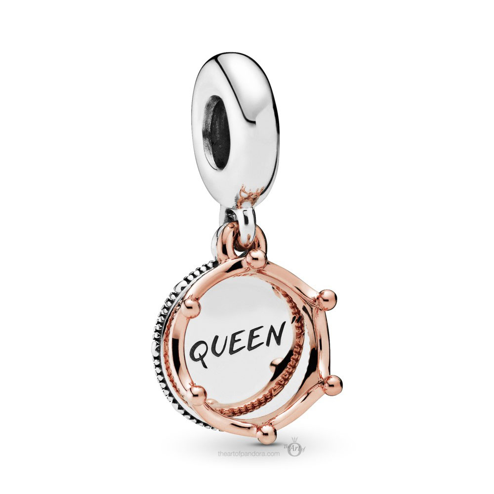 Pandora Queen & Regal Crown Dangle (788255) Autumn 2019