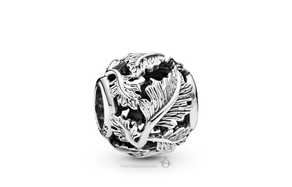 Pandora Openwork Leaves Charm (798241) Autumn 2019