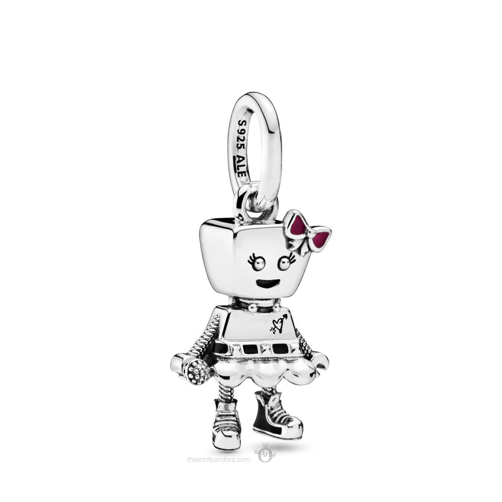 Pandora Bella Bot Punk Band Charm (798245ENMX) Autumn 2019