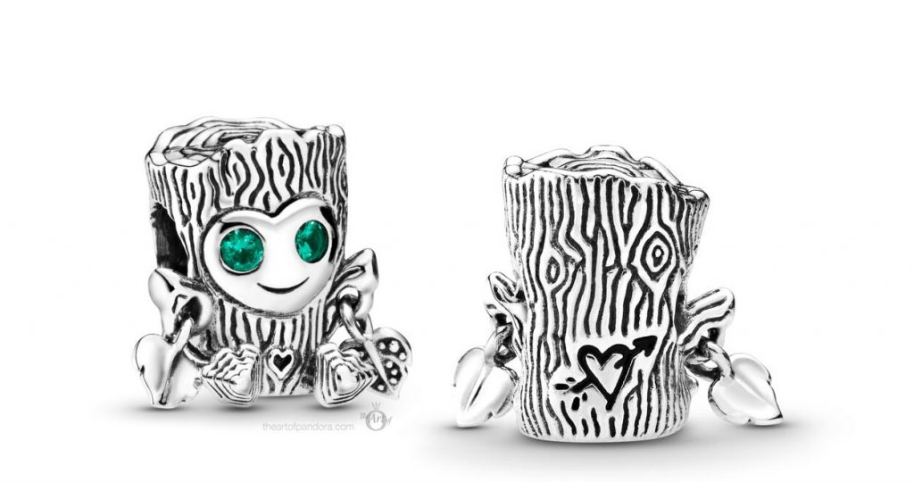 Pandora Sweet Tree Monster Charm (798260NRG)