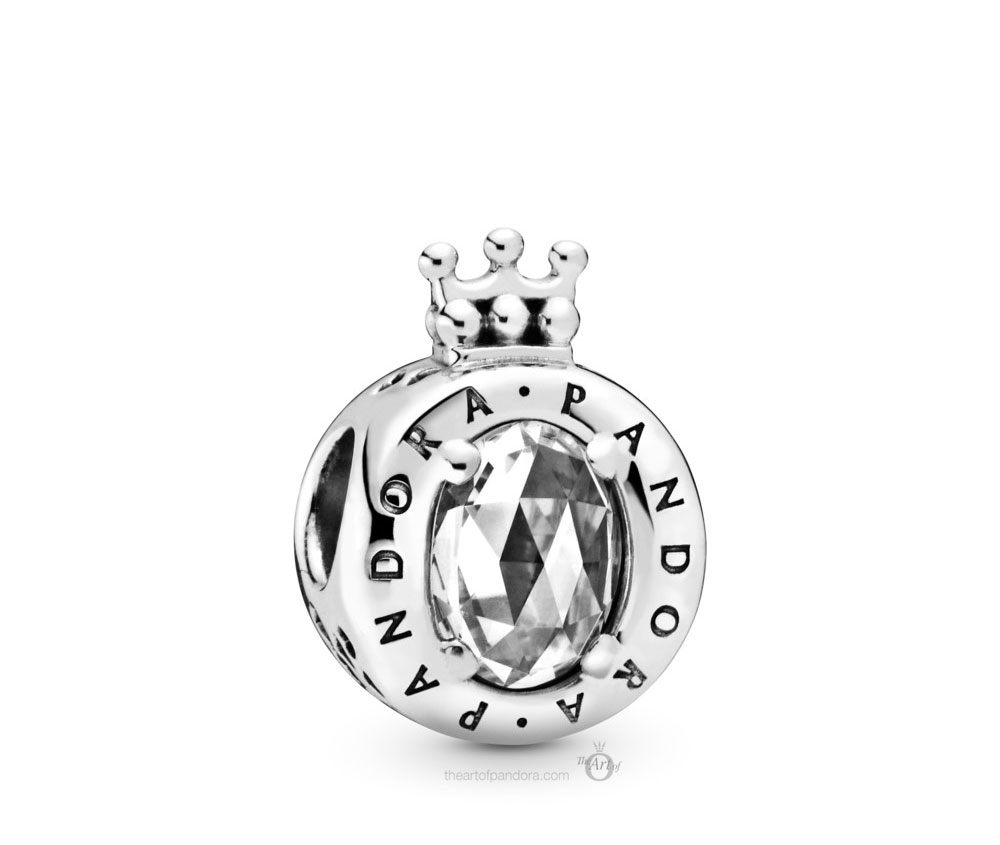 Pandora Clear Sparkling Crown O Charm (798266CZ) Autumn 2019
