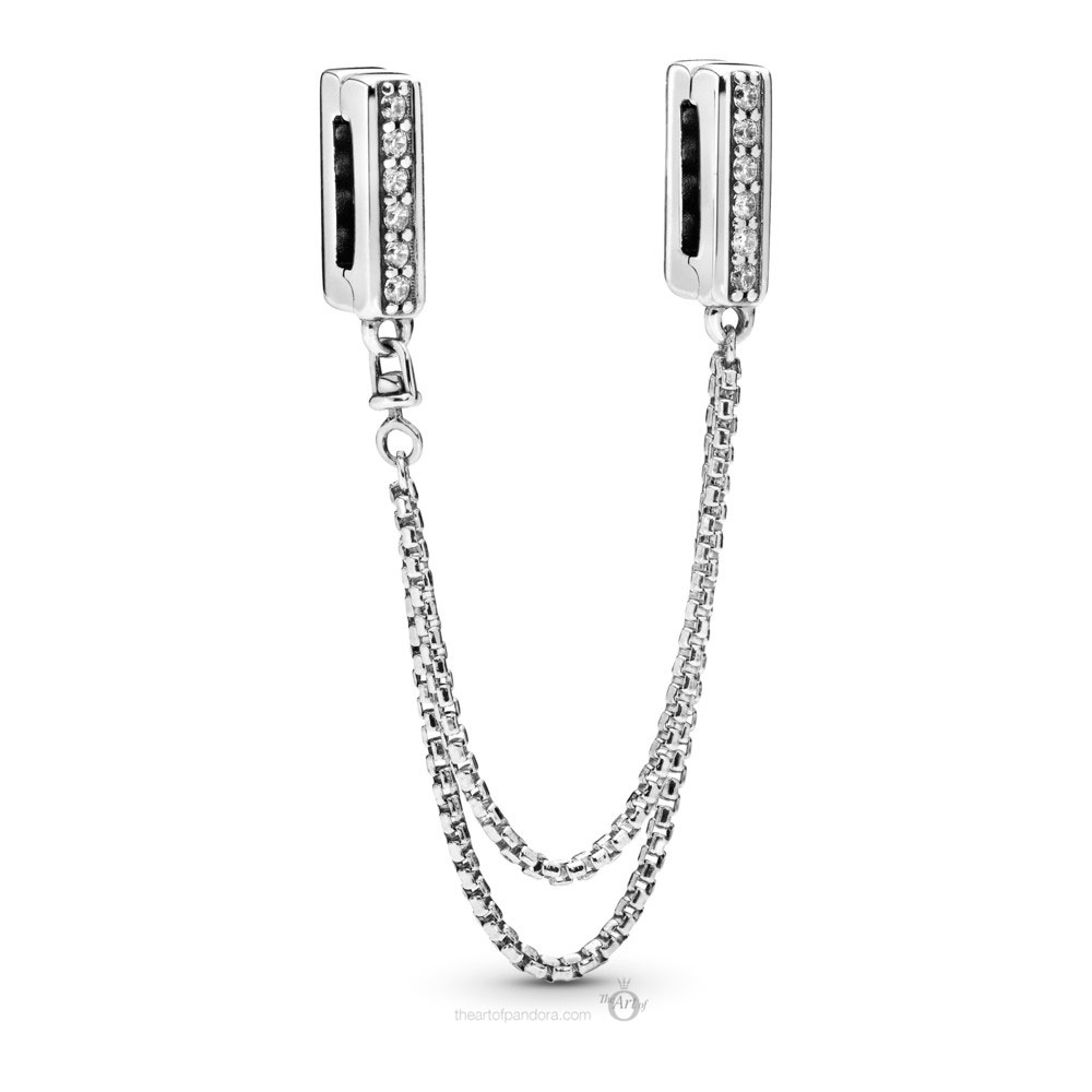 Pandora Reflexions Sparkling Safety Chain (798269CZ) Autumn 2019
