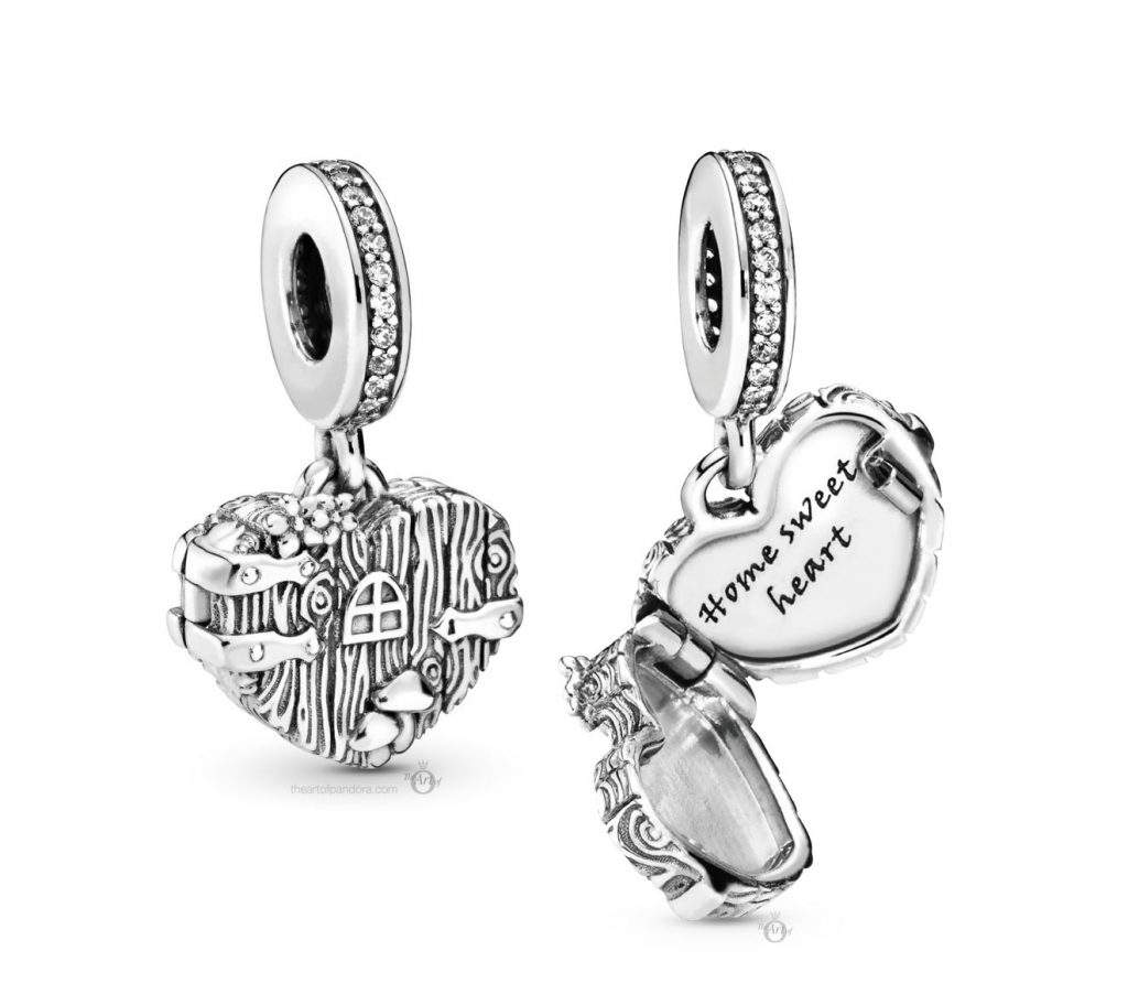 Pandora Home Sweet Heart Charm (798284CZ) Autumn 2019