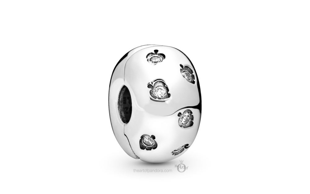 Pandora Sparkling Leaves Clip (798345CZ) Autumn 2019