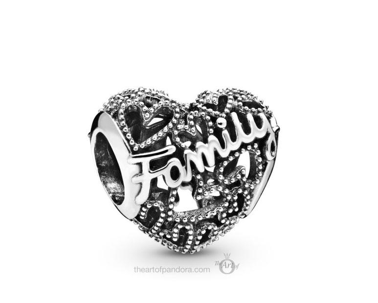 798571C00 Pandora Family Heart Charm