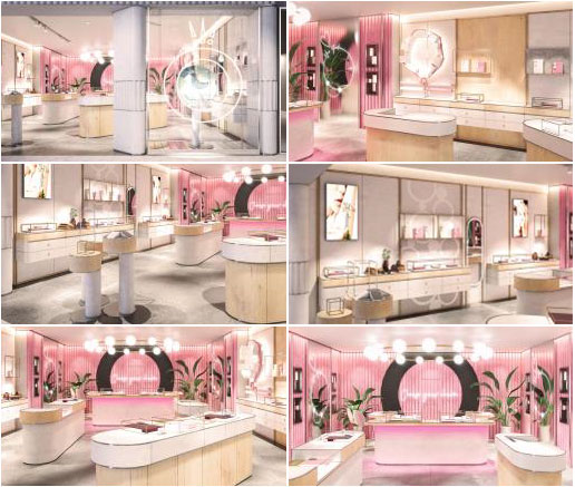 pandora Designed Concept Store at Fosse Park new store 2019