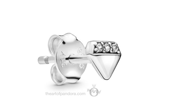 Pandora Me  My Bright Diamond Stud Earring (298388CZ)