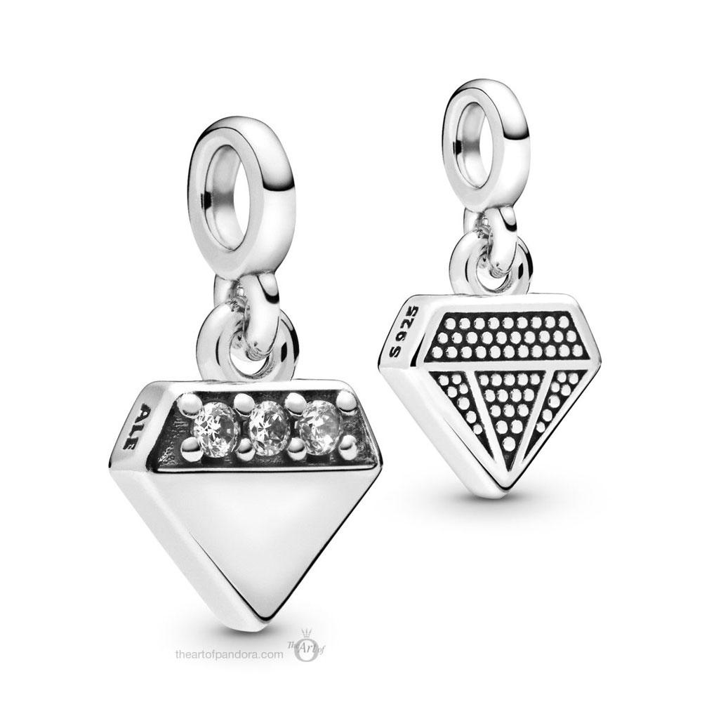 Pandora Me  My Bright Diamond Dangle (798368CZ)
