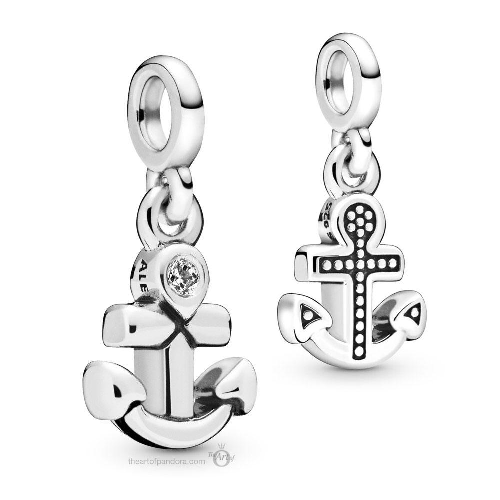 Pandora Me  My Anchor Dangle (798393CZ)