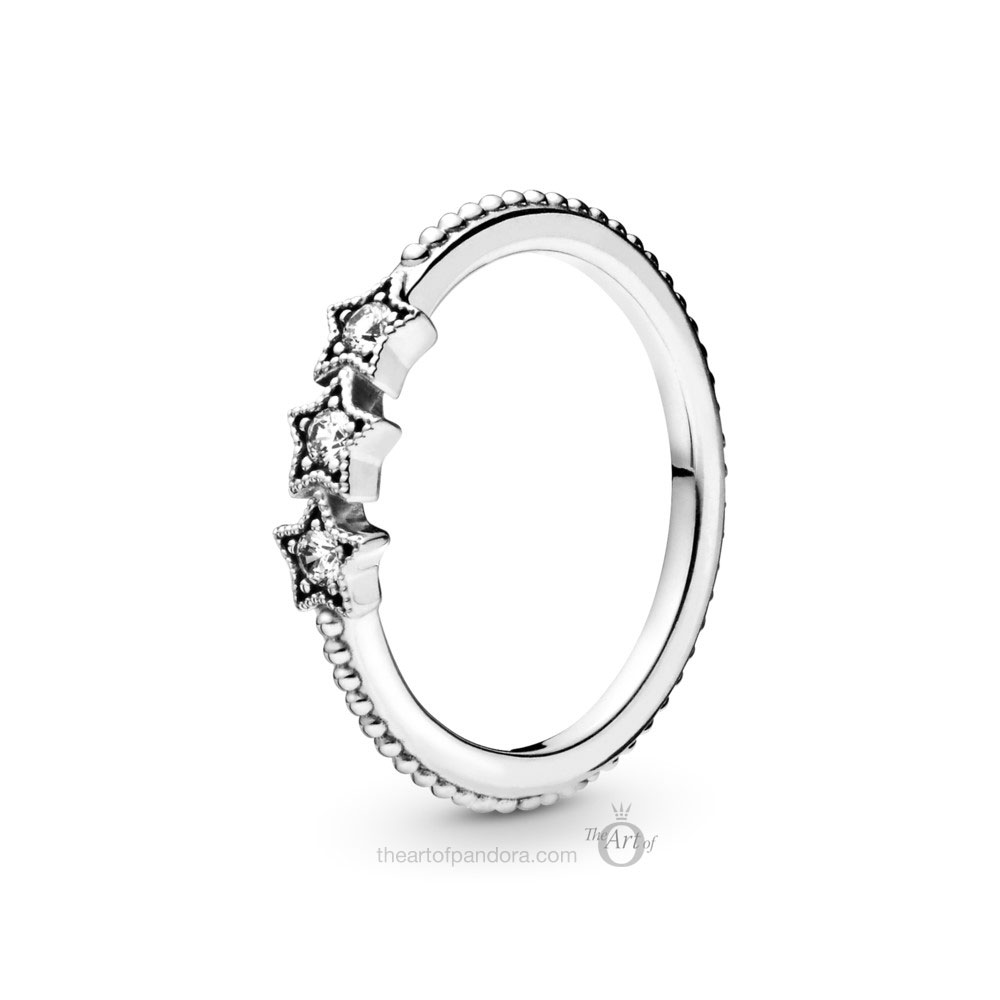 Pandora Celestial Stars Ring (198492C01) winter 2019
