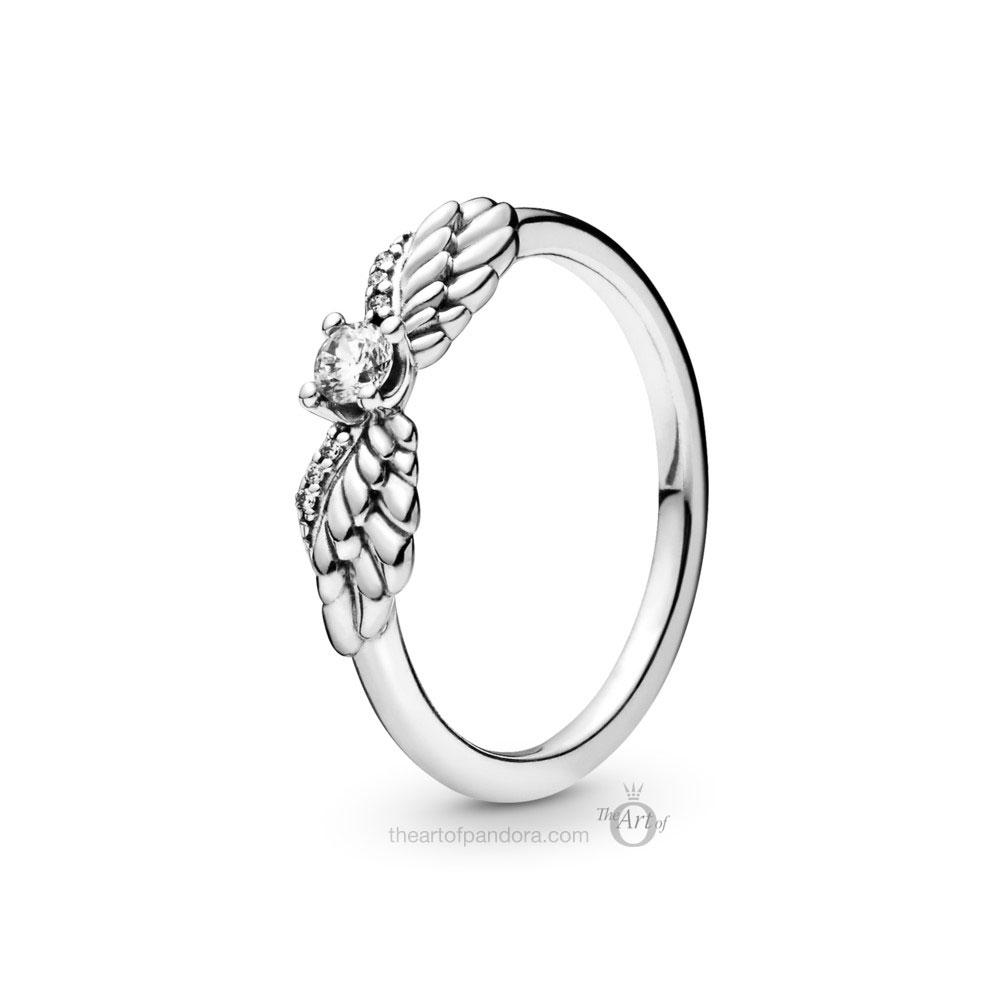 Pandora Angel Wing Ring (198500C01)