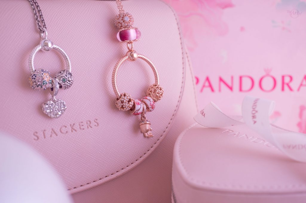 pandora O pendant stackers gift idea Christmas winter 2019