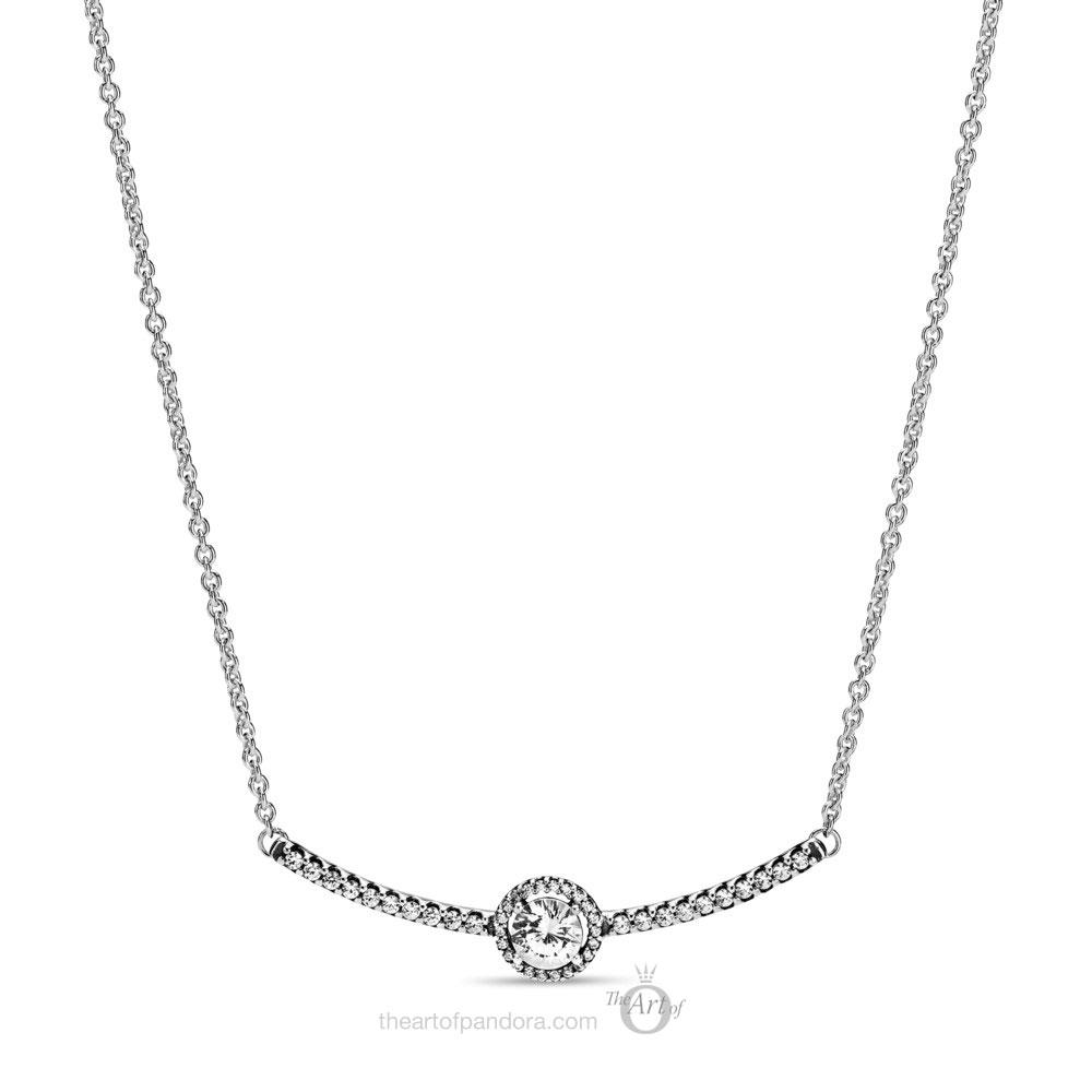 Pandora Geometric Shapes Necklace 398490C01