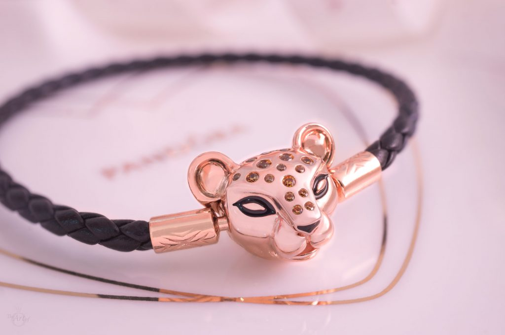 Pandora Rose Sparkling Lion Princess Woven Leather Bracelet 588053CBK  Summer 2019 Winter gift idea free new gwp lioness Disney lion king