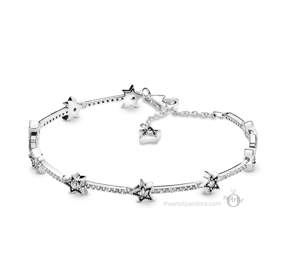 Pandora Celestial Stars Bracelet (598498C01) winter 2019