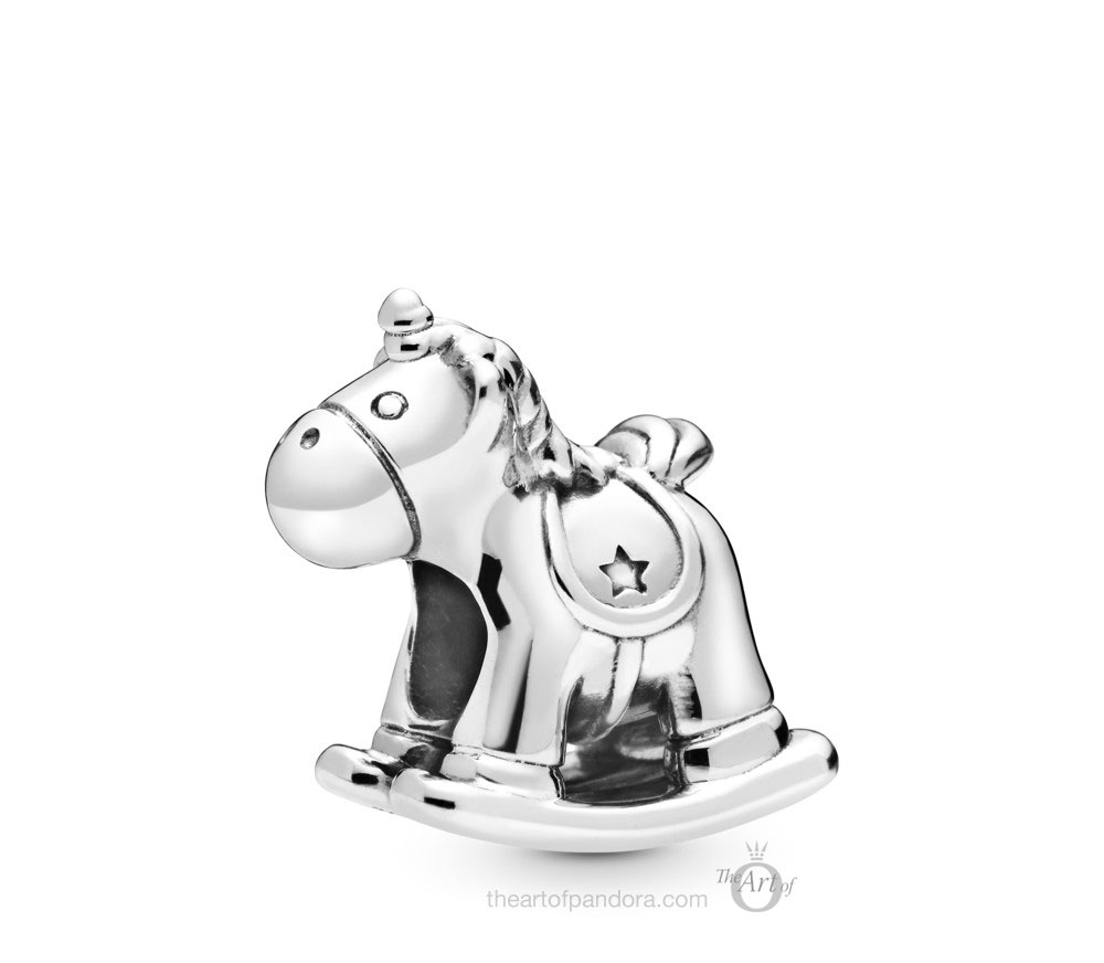 Pandora Bruno the Unicorn Rocking Horse Charm (798437C00) winter 2019