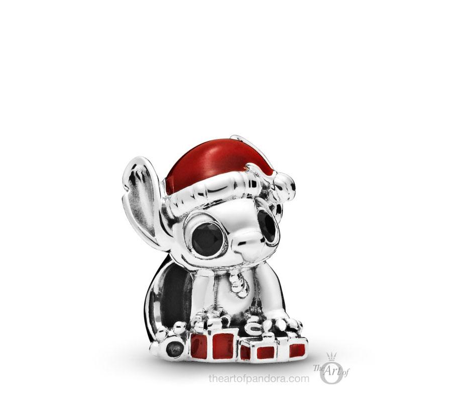 Pandora Disney Stitch Christmas Charm (798452C01) winter 2019