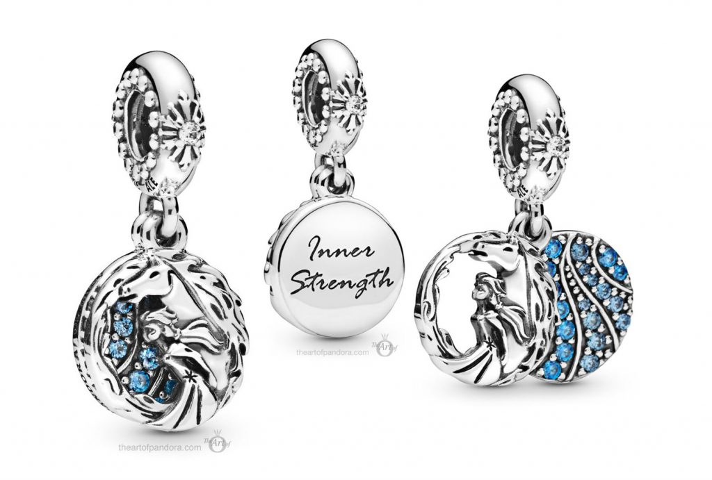 Pandora Disney Frozen Elsa & Nokk Dangle Charm (798456C01)