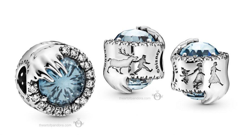Pandora Disney Frozen Winter Crystal Charm (798458C01)