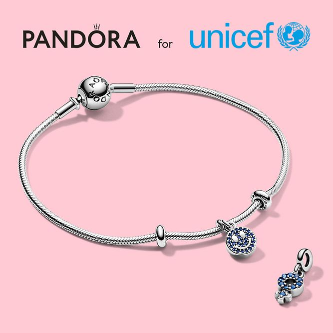 Pandora x UNICEF My Smile Dangle Charm Gift Set