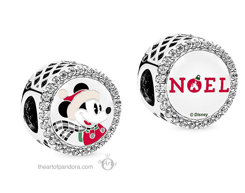 Mickey Mouse Holiday Charm