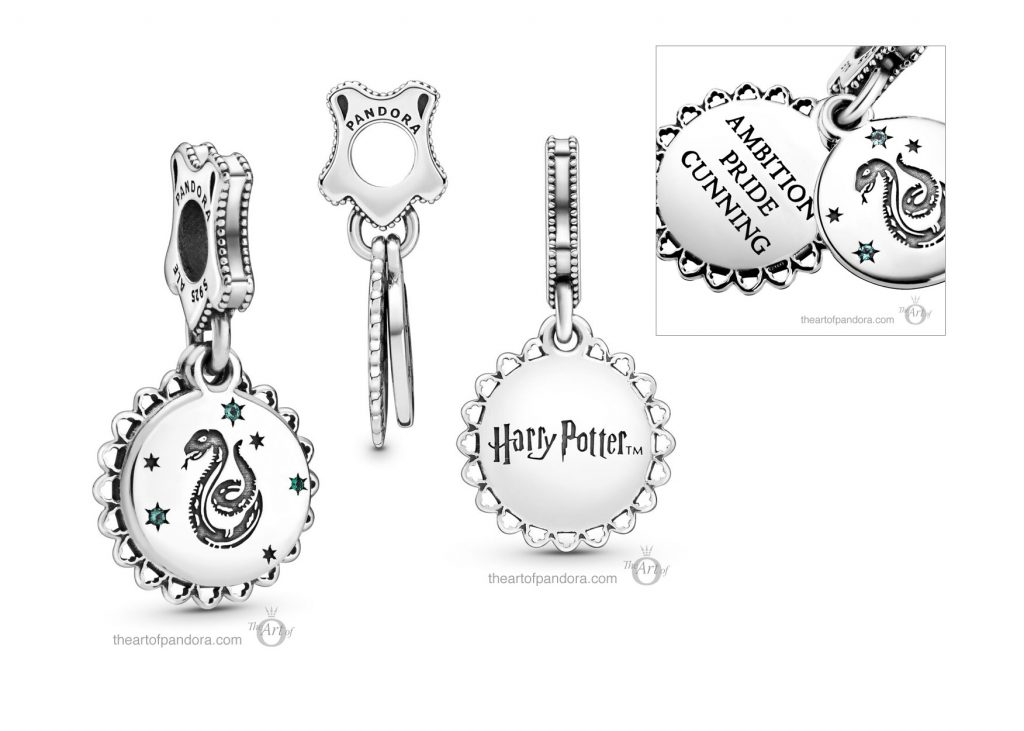Pandora Harry Potter Slytherin Dangle Charm (798620C01)