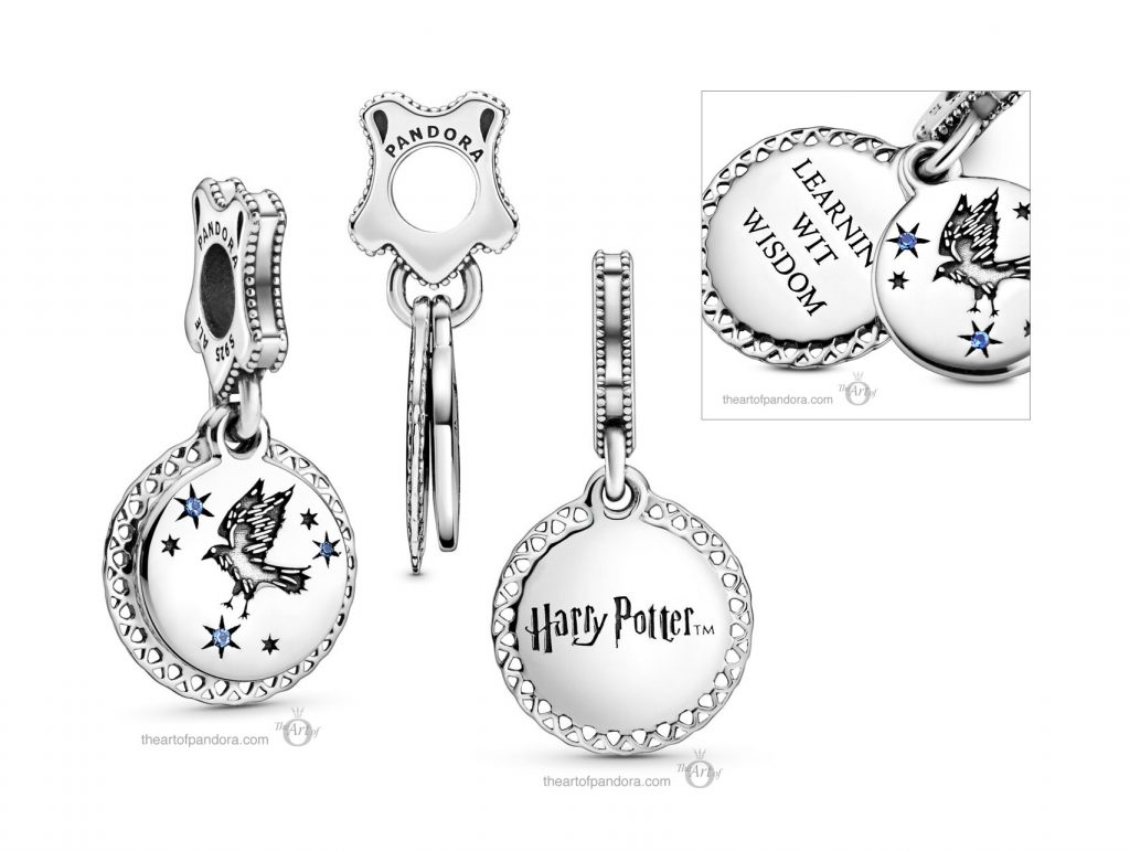 Pandora Harry Potter Ravenclaw Dangle Charm (798831C01)