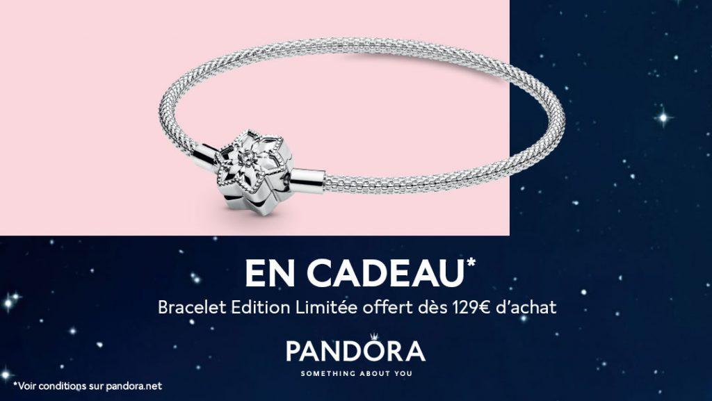 FREE Limited Edition Pandora Bright Snowflake Mesh Bracelet
