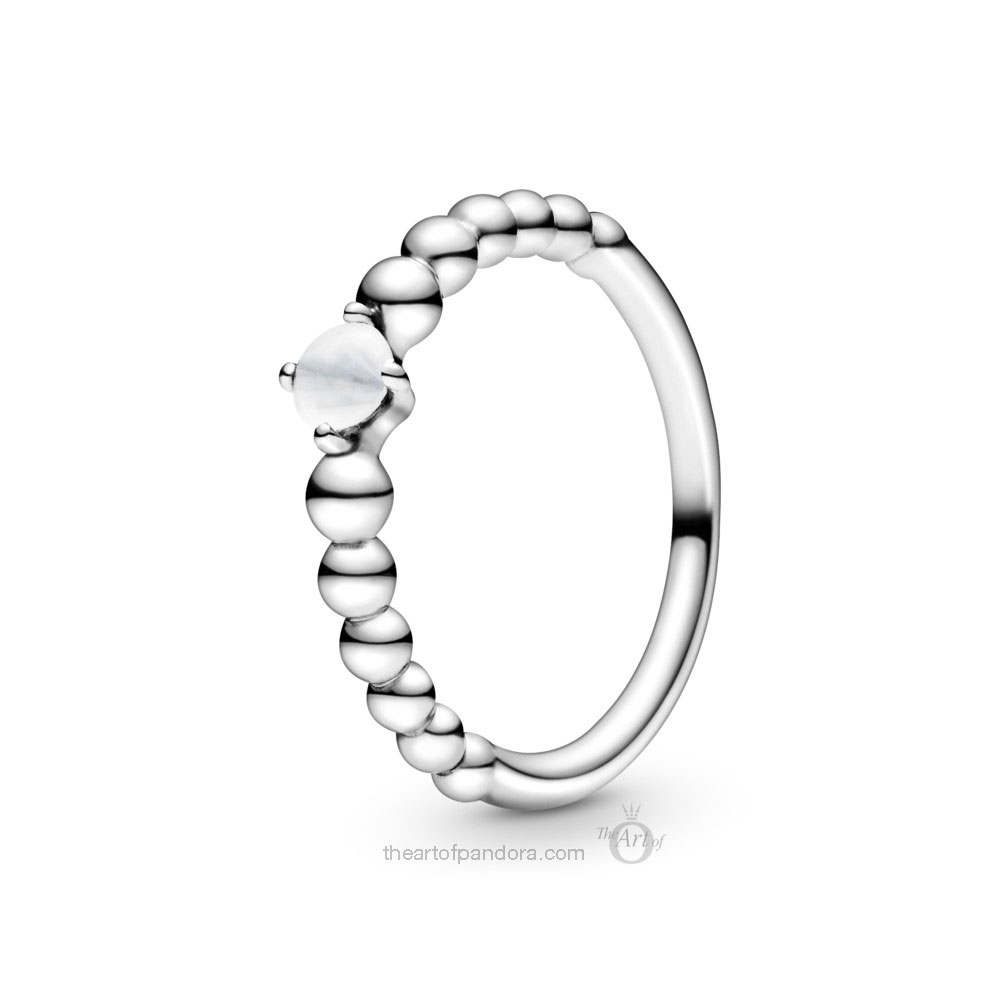 198598C04 Pandora April Birthstone Ring Pandora 2020 pre valentines day collection