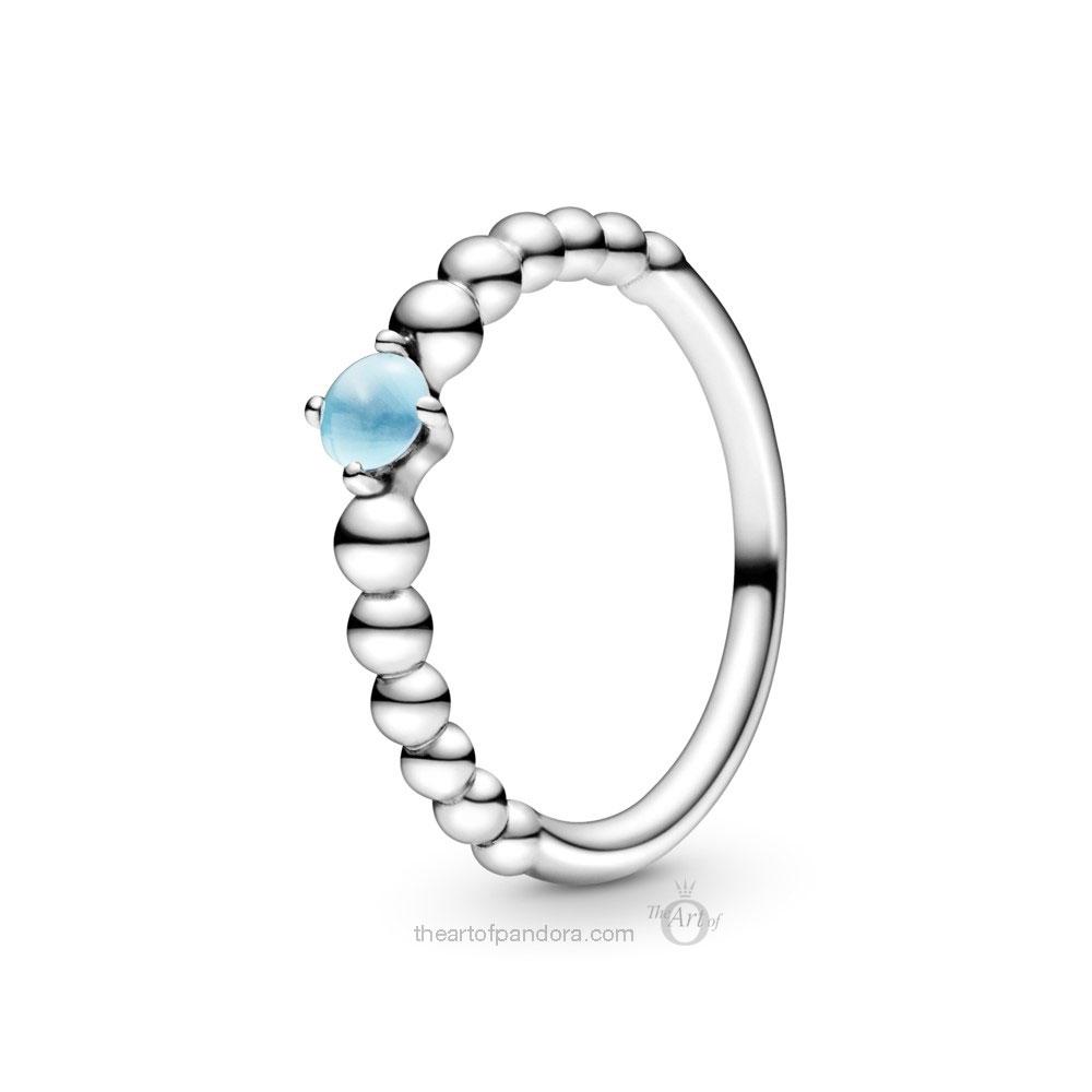 198598C07 Pandora September Birthstone Ring Pandora 2020 pre valentines day collection